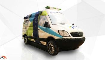 Réplica de vehículo - Inflable publicitario