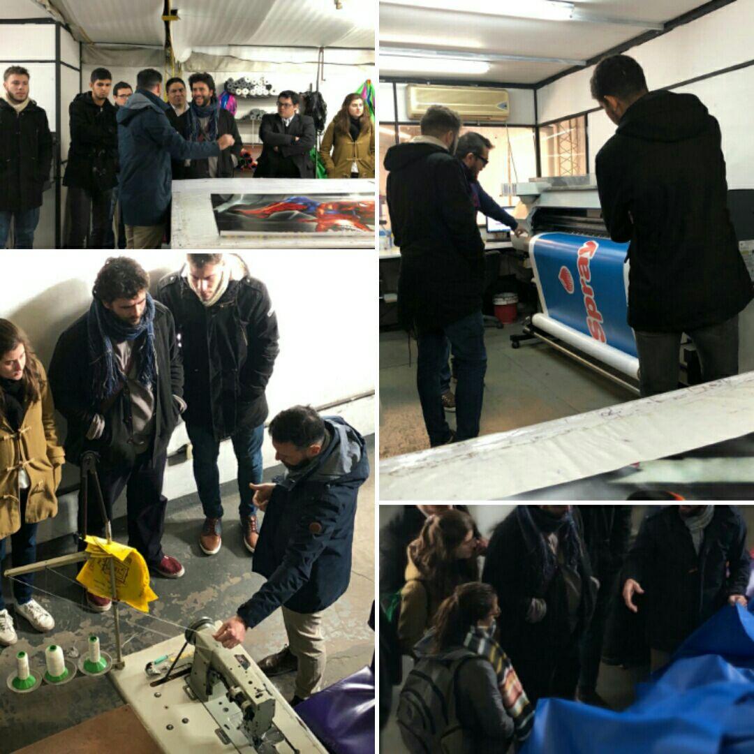 Nos visitaron alumnos del instituto iscv de la carrera de for Carrera de diseno industrial